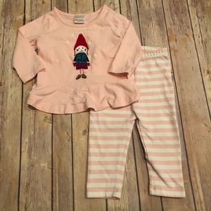 Hanna gnome kitty outfit